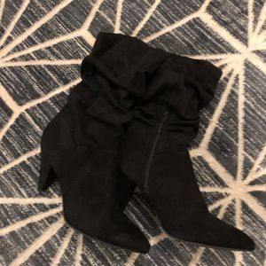 Ankle slouch boot